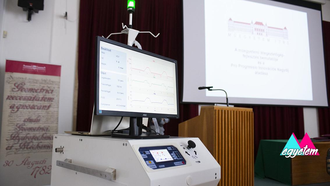 Műegyetemi oktatók a koronavírus elleni harcban – Lélegeztetőgép-gyártás Magyarországon