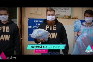 Horváth Zsombor: Számítunk rátok! – Önkéntesnek álltak a PTE ÁJK HÖT tagjai!