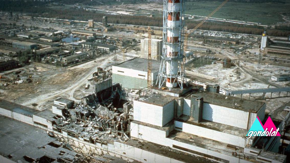 A csernobili atomkatasztrófa
