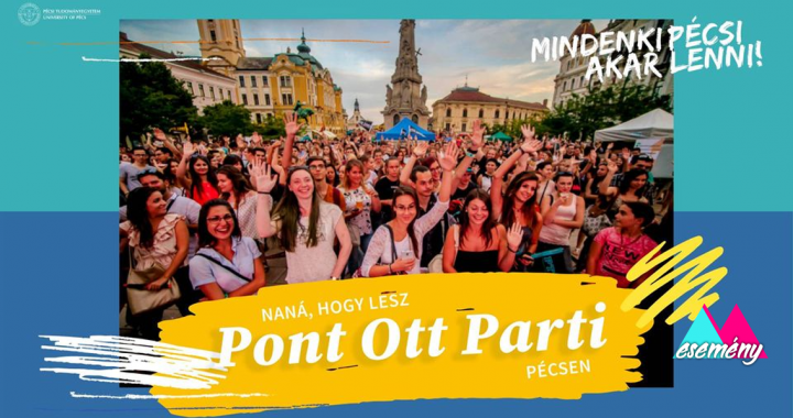 Téged is vár a Pont Ott Parti!